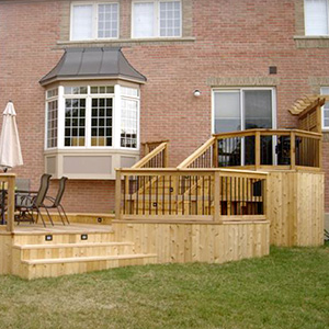 pressure treated decks